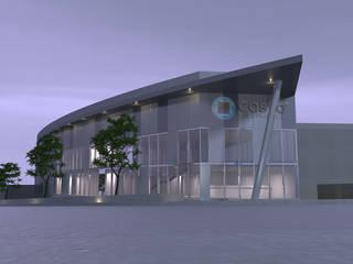 Edificio Industrial/Comercial, Castro Electronica, Mozelos, Sta Maria Feira:  industrial por rem-studio,Industrial