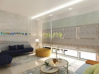 D WALL FLOWER : modern  by studio Cornerstone Pvt Ltd,Modern