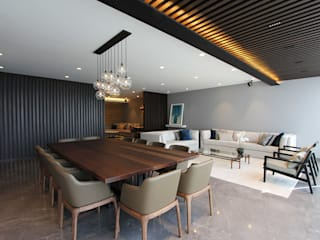 Modern dining room by ARCO Arquitectura Contemporánea Modern