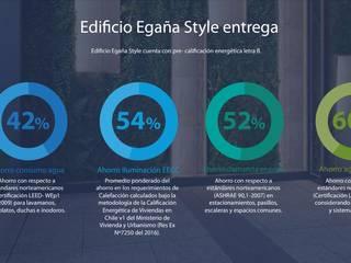 EDIFICIO RESIDENCIAL EGAÑA STYLE de NArq / Arquitectura Sustentable