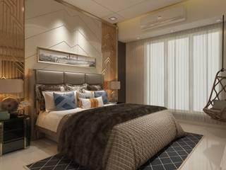Residential Ghatkopar site Modern style bedroom by CREATIVE DESIGNS Modern