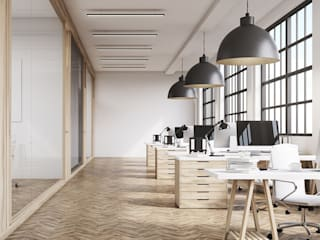 Commercial Interiors: modern  by Grandiose Interiors,Modern