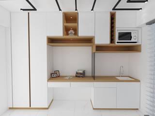 Residential Ghatkopar site Modern study/office by CREATIVE DESIGNS Modern