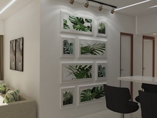 Residental Borivali Project Modern dining room by CREATIVE DESIGNS Modern
