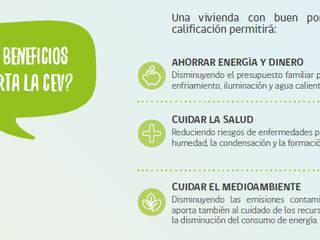 CALIFICACIÓN ENERGÉTICA DE VIVIENDAS de NArq / Arquitectura Sustentable