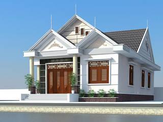 Nhà 2 tầng lợp mái tôn đẹp nhất hiện nay bởi BlueScopeZacs Việt Nam
