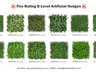 New Trendy Artificial Plants Panels For Vertical Landscape van Sunwing Industries Ltd Tropisch