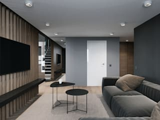Minimalist living room by EJ Studio Minimalist