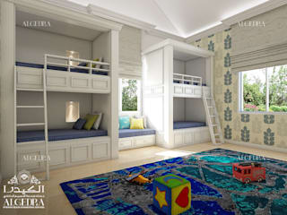 Colonial style nursery/kids room by Algedra Interior Design Colonial