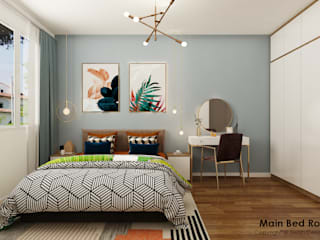 Swish Design Works Small bedroom