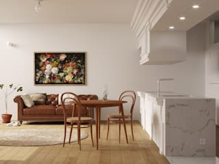 Corpo Atelier Koridor & Tangga Modern