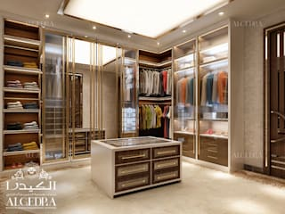 Colonial style dressing room by Algedra Interior Design Colonial