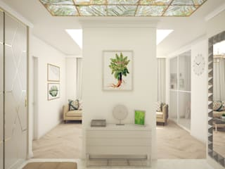 Classic style living room by Андреевы.РФ Classic
