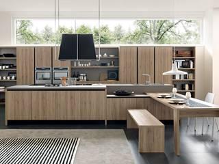 "Cozinha ""Wood"" 3D por CGhome Industrial"