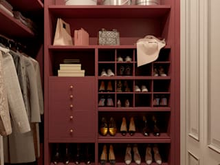 Classic style dressing room by MARION STUDIO Classic