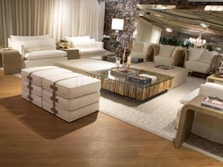RUTE STEDILE INTERIORES Eclectic style living room