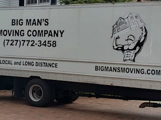 by Big Man's Moving Company