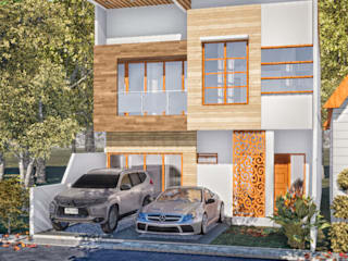 Modern house Oleh GRAPHICA ARCHITECTURE