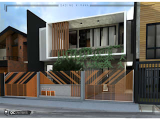 HOUSE MR.J KIRANA Oleh qic arsitek Modern