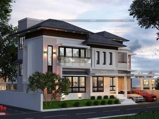 Casas de estilo asiático de Creo Homes Pvt Ltd Asiático
