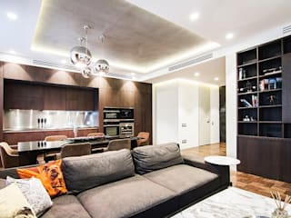 Orel Andre Eclectic style living room