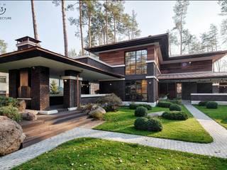 Дом в стиле Райта от 33bY Architecture Классический