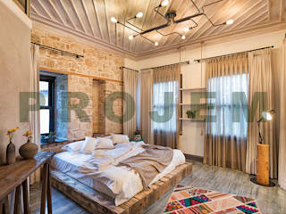 Mediterrane Hotels von Mimoza Mimarlık Mediterran