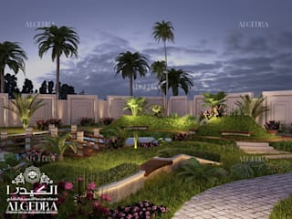 by Algedra Interior Design Tropical