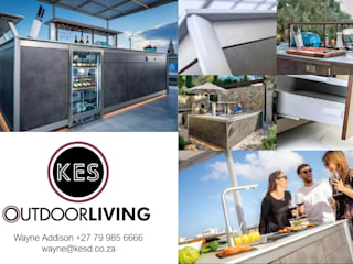 Outdoor Kitchens by KES OUTDOOR LIVING (PTY)LTD Mediterranean