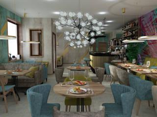 """Ресторан """"ВОДОПАД"""" от Design Studio BLUE BIRD DESIGN by Irina Agafonova Эклектичный"""
