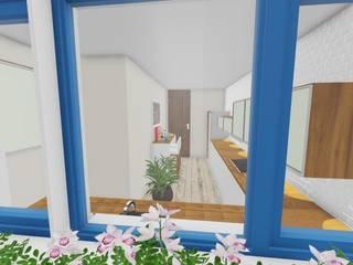 Ver a casa antes de começar... Projetos 3D por SweetYellow Campestre