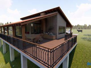 Projeto Casa de Campo por Inglobal planejamentos