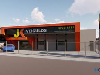 Projeto Comercial JK-VEICULOS Espaços comerciais modernos por Inglobal planejamentos Moderno