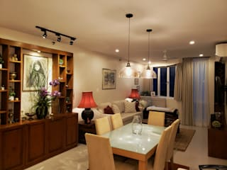 Oriental Oasis Asian style dining room by Geraldine Oliva Asian
