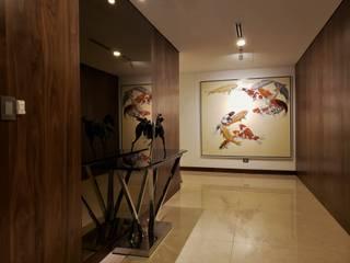 Geraldine Oliva Pasillos, halls y escaleras minimalistas
