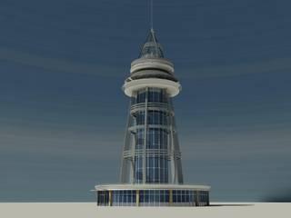 Sönmez Mimarlık – Ali Kuşçu Gökbilim Merkezi: modern tarz , Modern