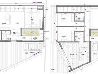 Moradia Unifamiliar Guifões, Matosinhos por rem-studio Moderno