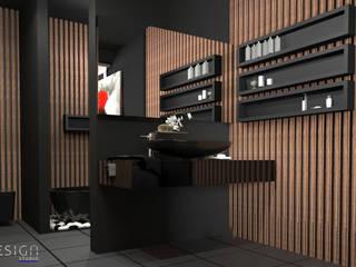 YDA Park Avenue Modern Banyo Nix Design Studio Modern