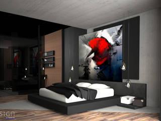 YDA Park Avenue Modern Yatak Odası Nix Design Studio Modern
