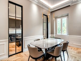 MOB ARCHITECTS Moderne Esszimmer