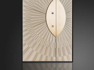 Ercole Srl Asian style doors Wood Amber/Gold