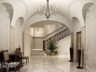 Classic corridor, hallway & stairs by Algedra Interior Design Classic