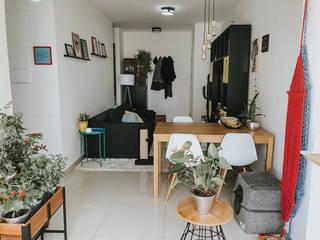 Sala de estar moderna Salas de jantar modernas por Lorena Porto - Arquitetura e Interiores Moderno