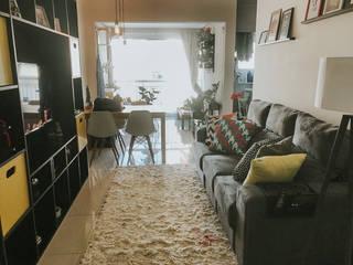 Sala de estar moderna Salas de estar modernas por Lorena Porto - Arquitetura e Interiores Moderno