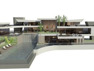 Villa Tropical de lujo...luxury homes de Sansó Arquitectura