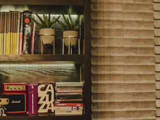 Quarto Jovem por Lorena Porto - Arquitetura e Interiores Moderno