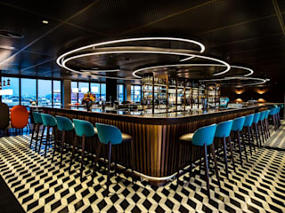 George Bar Casino por DelightFULL Moderno