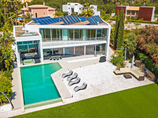 Drone / Fotografia & Video Hotéis modernos por Spherical Moderno