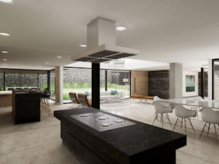 UNREALITY Architecture & Design Built-in kitchens
