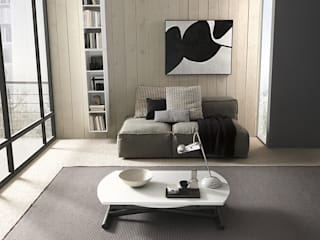 Mobili a Colori Modern dining room Engineered Wood White